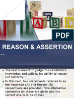 19073 Assertion Reason1ppt