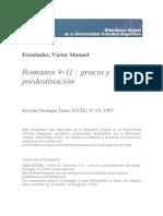 Romanos Gracia Predestinacion Fernandez
