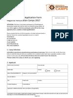 Volunteer Application 2017