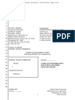 FTC sues AMAZON
