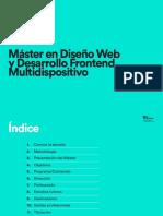 Máster en Diseño Web y Desarrollo Frontend Multidispositivo
