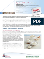 Coproducts Milk Report