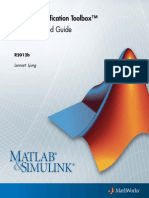 Identification Getting started MATLAB