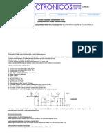 Fuente Regulada 0 a 15V - 2A (Protección Contra Cortocircuitos)