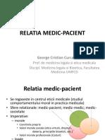 Relatie Medic-pacient