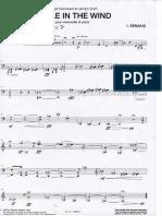 Paille in the Wind, Iannis Ksenakis- Cello Part
