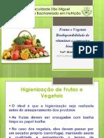 4 - Frutas e Vegetais – Biodisponibilidade de Vitaminas