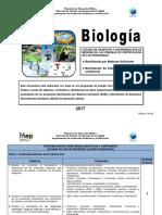Temario Biologia Bachillerato 2017 1