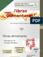 5 - Fibras alimentares