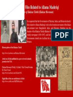 Declassify Files Related to Allama Mashriqi - Founder of Khaksar Tehrik (Khaksar Movement)