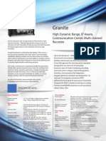 Granite Datasheet