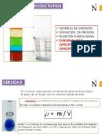 01 c Densidad - Peso Especifico -Gravedad Especifica