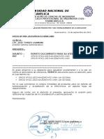 Oficio Nº 400-2015 -Gdm-remito Documento Para Su Atención