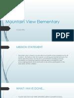 mountain view elementary presentation pptx