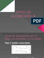 3.2.2.-Tipos de Alcantarilla