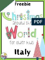 ChristmasAroundtheWorldItalyFreebiefor3rd5thGrade