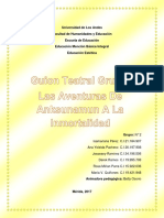 guion teatral grupal