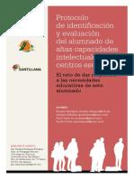 Protocolo Deteccion ALTAS CAPACIDADES