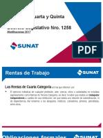 SUNAT - Renta de Cuarta y Quinta Categoria