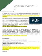 Instrucciones de Llenado de Convenio de Interoperabilidad y Anexo