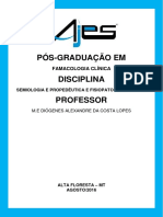 Semiologia e Propedêutica e Fisiopatologia Clínia