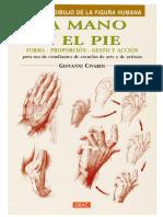 Curso de dibujo del cuerpo humano - La mano y el pie - JPR504.pdf
