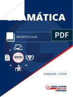 1. Morfologia - CESPE - Com Prints e Mapa
