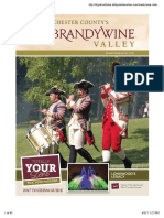 2017 Tourism Guide to Chester County's Brandywine Valley