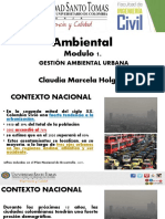 Gestion Ambiental Urbana