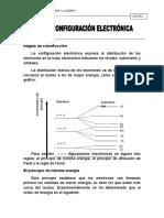 CONFIGURACÓN ELECTRÓNICA
