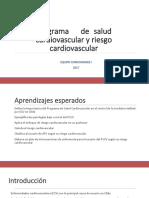 Programa de Salud Cardiovascular y Riesgo Cardiovascular