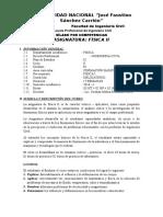 Silabo Física 2 - Ing. Civil - UNJFSC