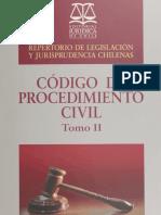 Repertorio de Jurisprudencia CPC Tomo II