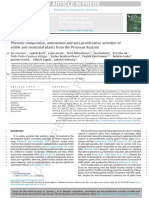 Phenolic Composition, Antioxidant and Anti-proliferative Activities of Edible and Medicinal Plants From the Peruvian Amazon