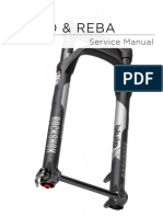 Rockshox Reba 2015 Service Manual pdf | Screw | Suspension