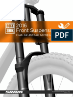 Rockshox Suspension Oil-Air Charts 2016