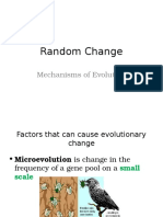 E-GRADE+11+ENRICHED+BIOLOGYEvolutionRandom+Change+PP+NEW