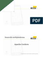 5.3. Multiplataforma - Apache Cordova