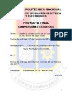 Control PI para un conversor DC-DC elevador