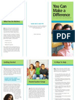 Get Involved Trifold Brochure
