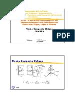 Estruturas de Concreto - Flexão Composta ]Obliqua Pilares