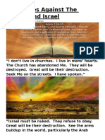 Prophecies Against The Church And Israel.docx