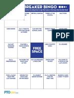 Icebreaker Bingo Printable