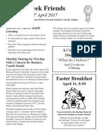 GC Newsletter April 2017