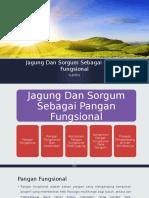 Jagung Dan Sorgum Sebagai Pangan Fungsional