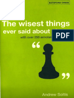 Soltis - The Wisest Things Ever Said About Chess