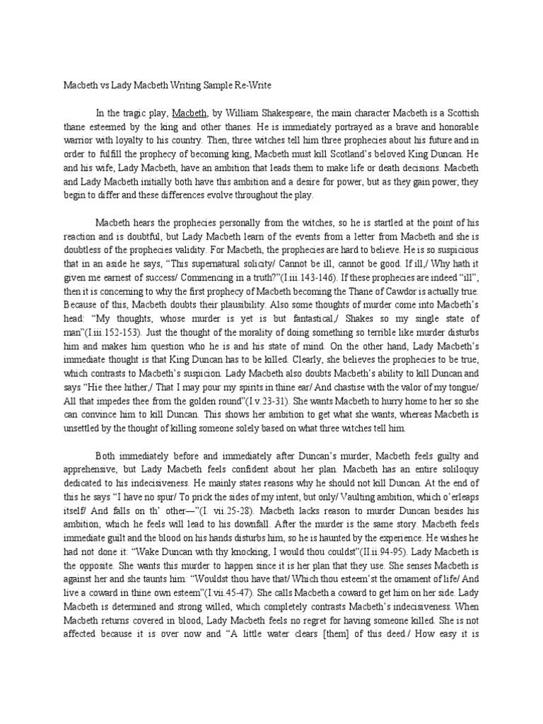 Gothic horror essay