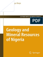Geology and Mineral Resources of Nigeria