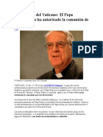 Declaración Del Vaticano