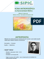 SIPIC UnB Apresentacao Miriam Menescal Medicina Antroposof Racionalidade